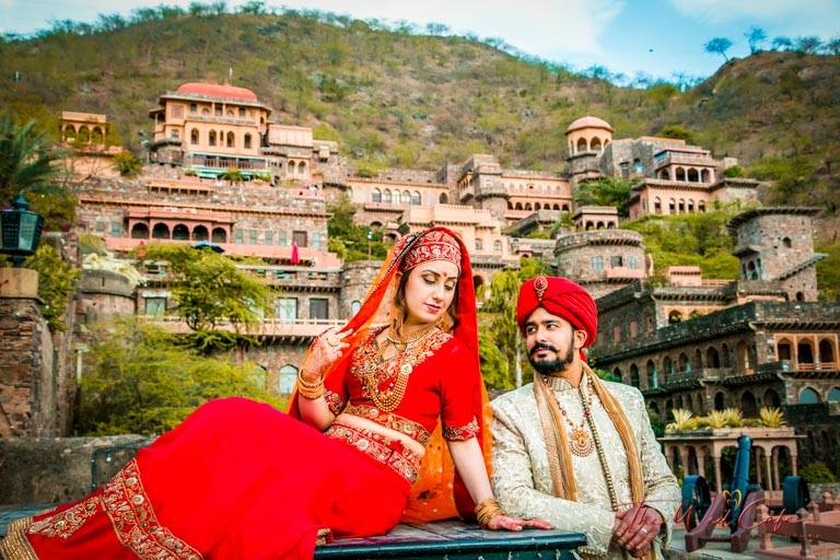 Destination Wedding Shoot in Rajasthan