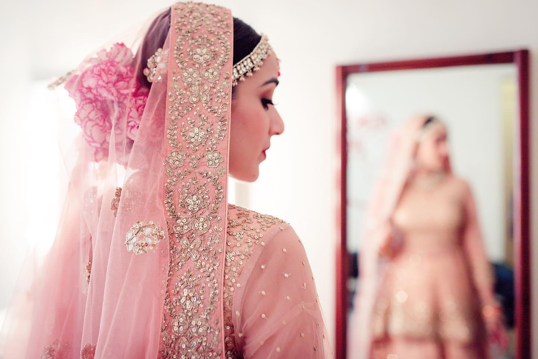 Pastel Pink Bridal Lehenga