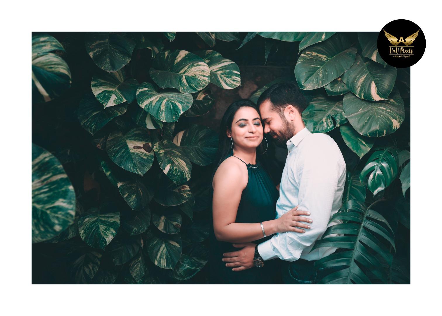 Innovative Backdrop Ideas for Pre Wedding Shoot