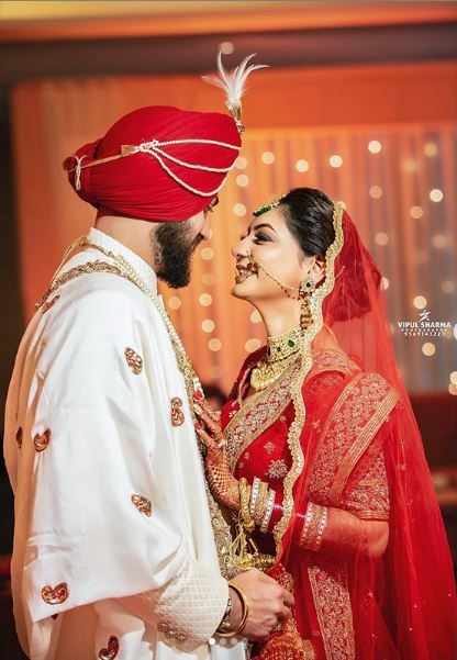 Sikh Bride & Groom Candid Photography