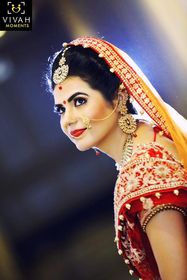 Bridal Portrait by Vivah Moments
