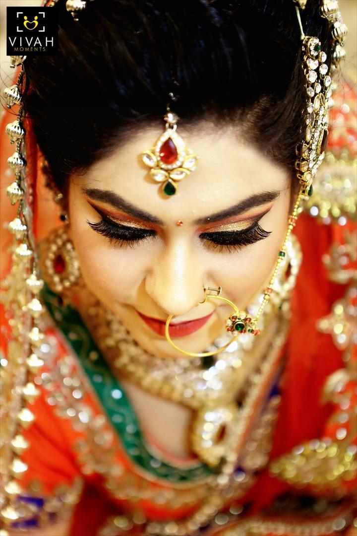 Bridal Golden Eye Makeup