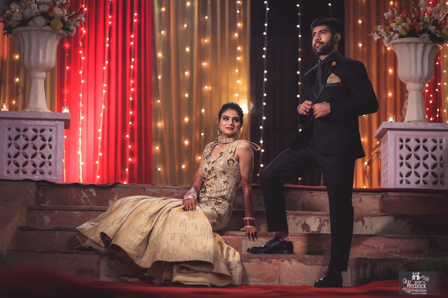 Wedding reception in Delhi(2)