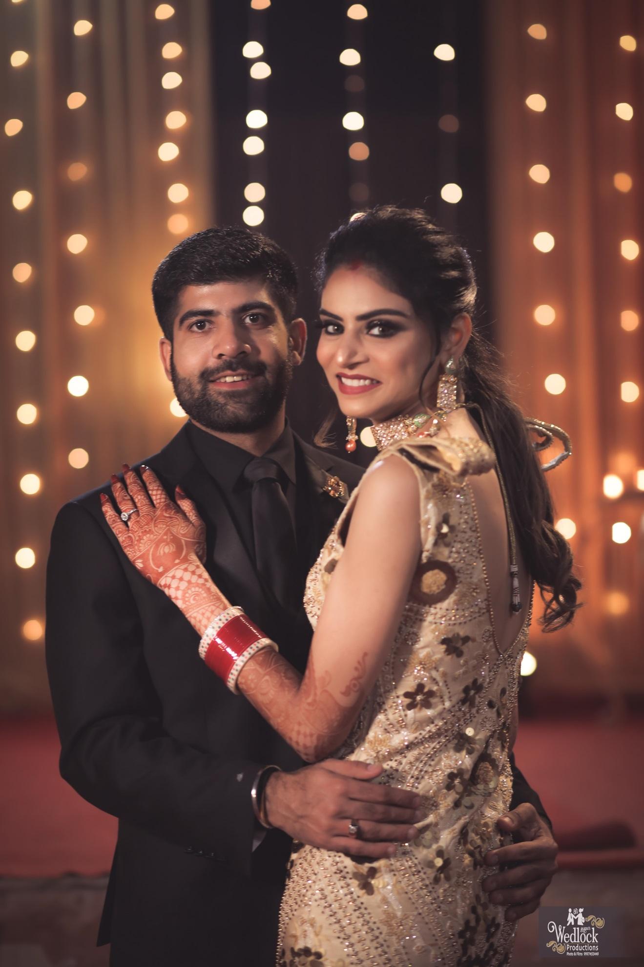 Wedding reception in Delhi