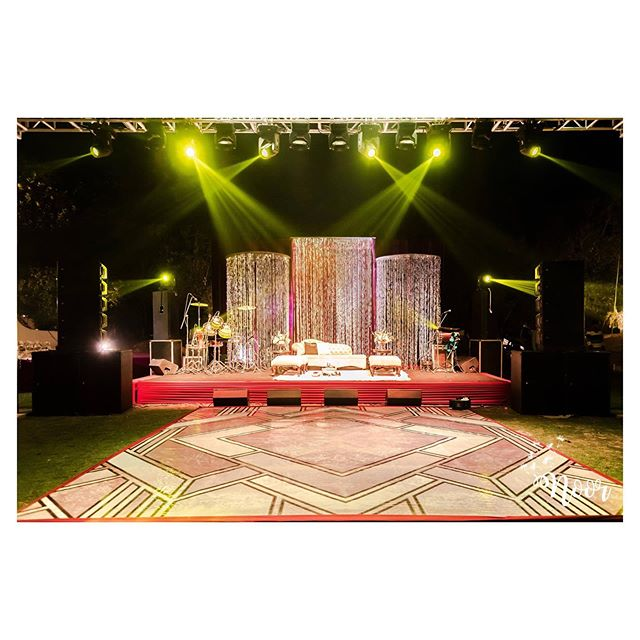 marriage stage flower decoration