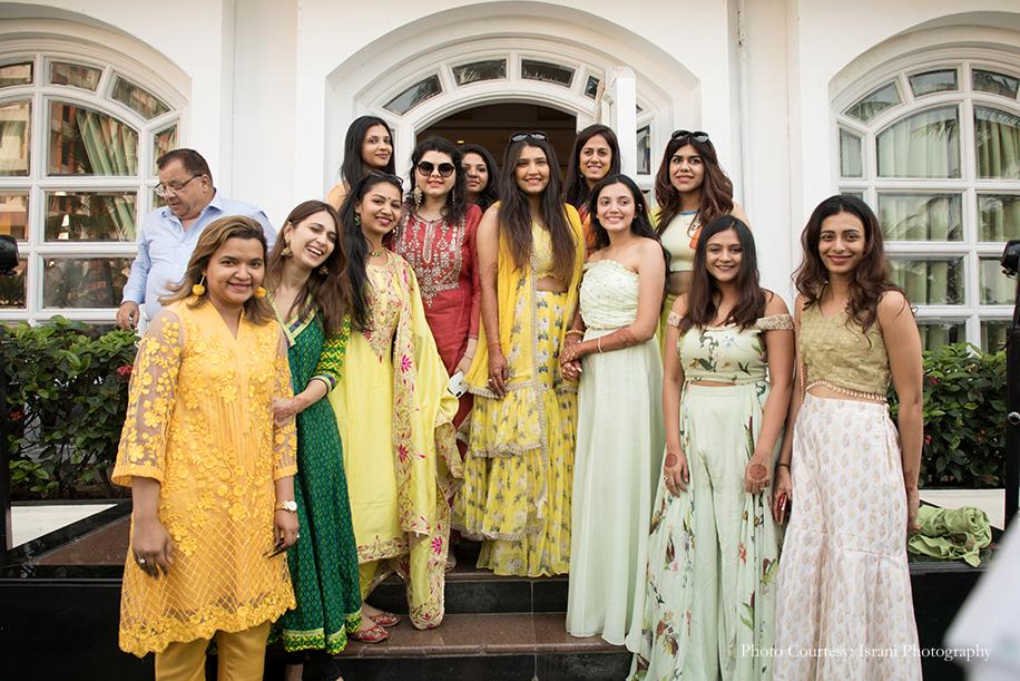 Yellow color Haldi Dress ideas