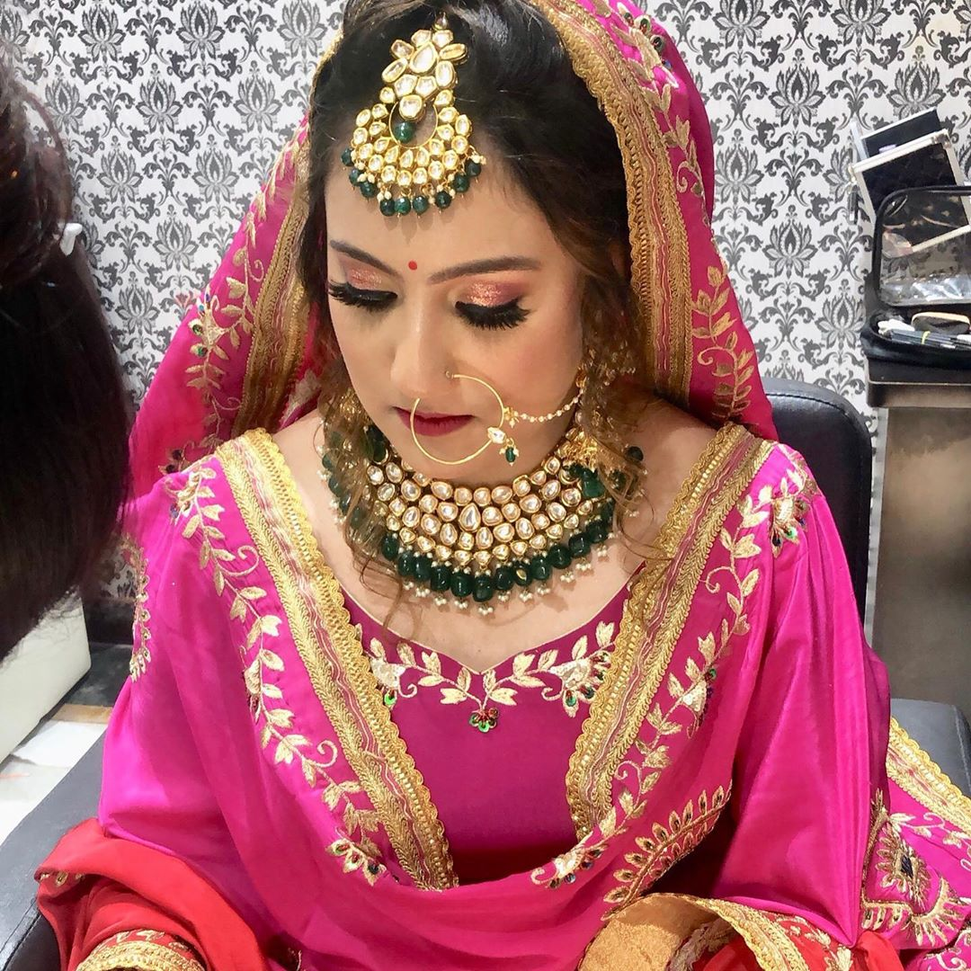 Bridal Makeup for Sikh Bride
