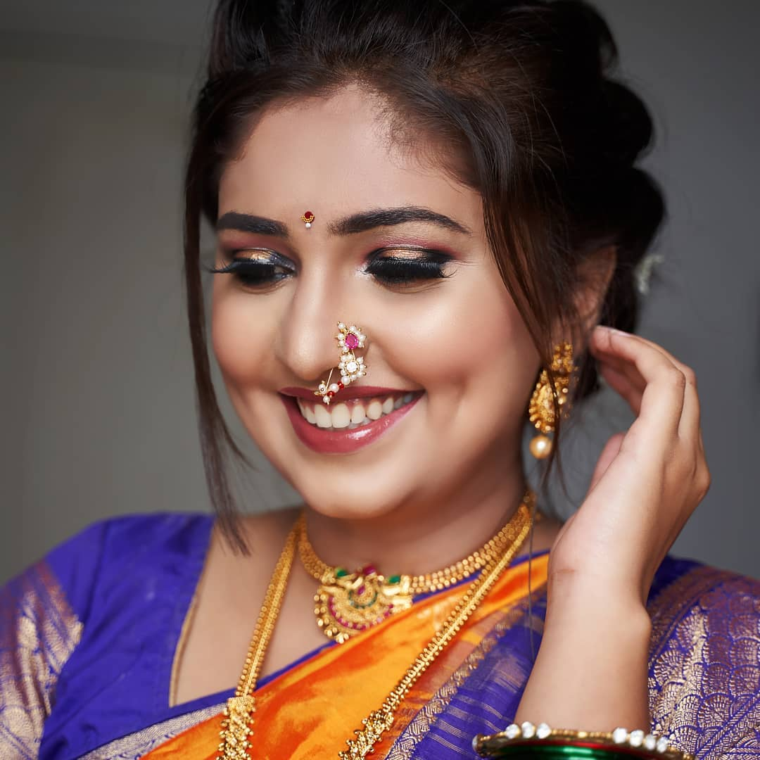 marathi bridal makeup