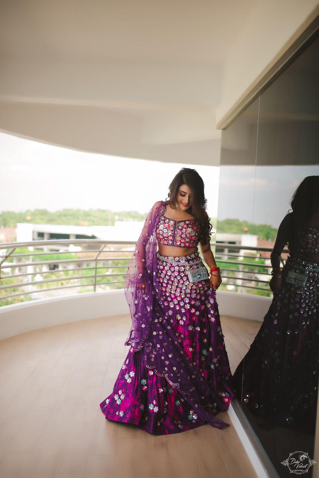 latest bridal wear for reception