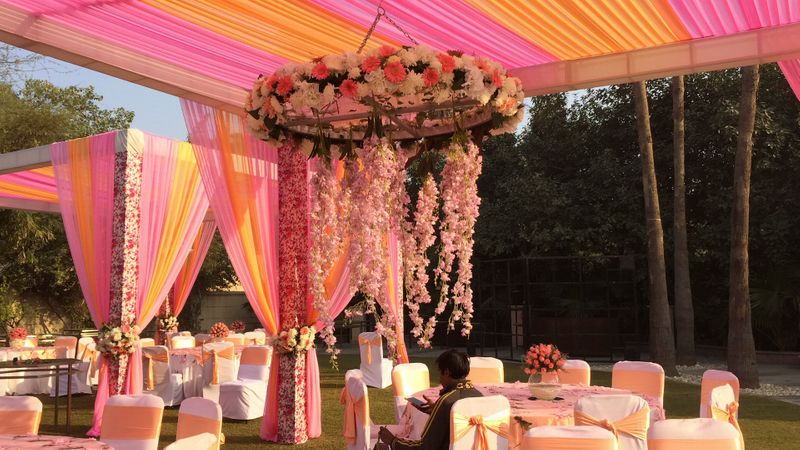 enchanted forest wedding decorations