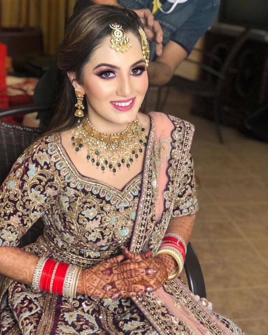 Multi Colored Bridal Lehenga